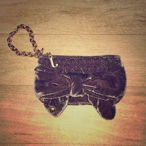 Juicy Couture Velour Wallet/Wristlet